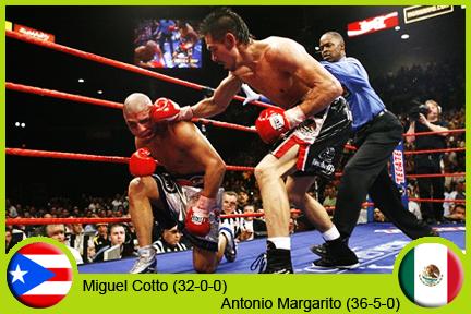 (2008-09-26) Miguel Cotto vs Antonio Margarito